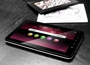 """New 10"""" ZEPAD Android 2.3 epad/apad Cortex A9 1GMHz 4GB 512MB RAM Tablet PC SKYPE VIDEO CALLING,NETFLIX MOVIES, GPS, HDMI, YOUTUBE, GAMES + LEATHER CASE."""