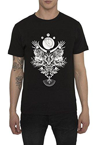 herren-designer-cool-fashion-gothic-rock-style-t-shirt-in-schwarz-mit-aufdruck-hunter-black-3d-print