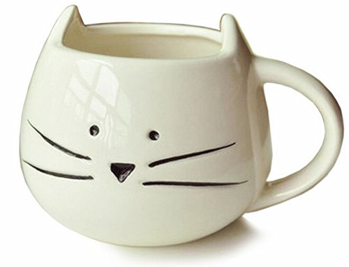 Buy Need 300Ml Lovely Little White Cat Coffee Milk Ceramic Mug Cup Christmas Birthday Best Gift