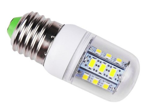 Liroyal E27 3.5W 420-450Lm 24*5730 Warm White Light Led Corn Bulb 110V