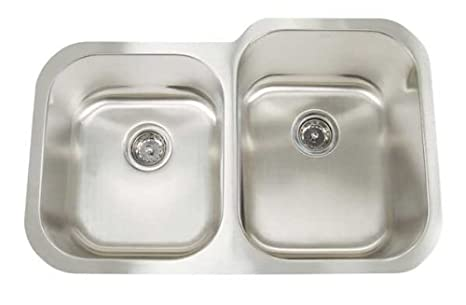 Artisan MH 3221 D88R Manhattan 31-Inch 18-Gauge Double Basin Undermount Kitchen Sink