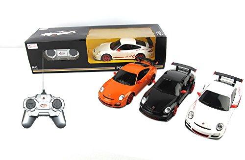 Azimporter Preschool Children Activity Playset 1:24 Porsche Gt3 Rs White front-336113
