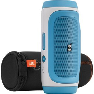 Jbl Charge Portable Wireless Bluetooth Speaker (Blue)