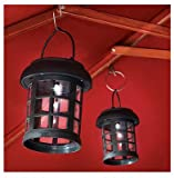 Smart Solar Hanging Umbrella Solar Lanterns- 2 Pack