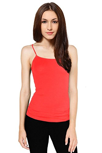 women plus size cami built in shelf bra adjustable