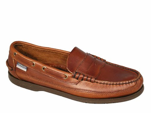 Sebago Sloop B70384 - 10.0 UK - Brown Waxy