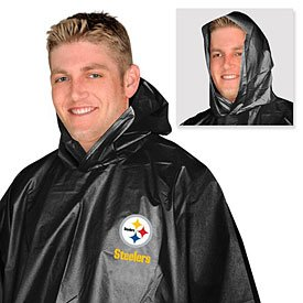 Pittsburgh Steelers Totes Rain Poncho