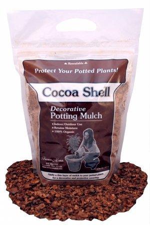 Ohio Mulch Supply 00203 Cocoa Shell Potting Mulch
