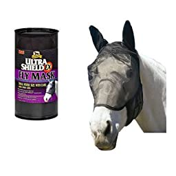 Absorbine fly bonnet - with ears - horse size