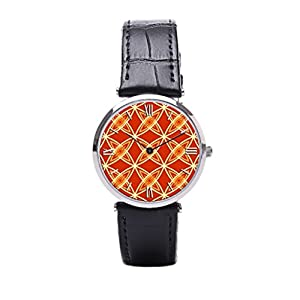 Dr. Koo Modern Mens Leather Strap Watches Atomic Best Leather Watches