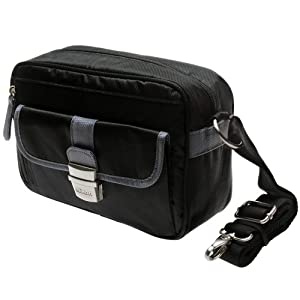 Nikon 1 Series Deluxe Digital Camera Case (Black) for J1, J2, J3, S1, V1, V2