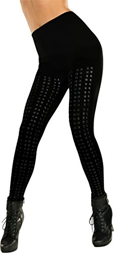 [Rubie's Costume Women's Studded Leggings, Black, One Size] (Really Sexy Halloween Costumes)