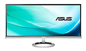 Asus MX299Q 29 inch Widescreen AH-IPS LED Multimedia Monitor (2560x1080, 5ms, DVI, DP, HDMI, Full Panoramic Visual and Audio, Asus SonicMaster Technology)