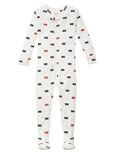 Gap Baby Cat Mask Footed Sleep One Piece Size 6-12 M front-921885
