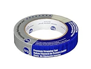 Intertape Polymer Group 9716 Reinforced Strapping Tape, 0.94-Inch x 60.1-Yard