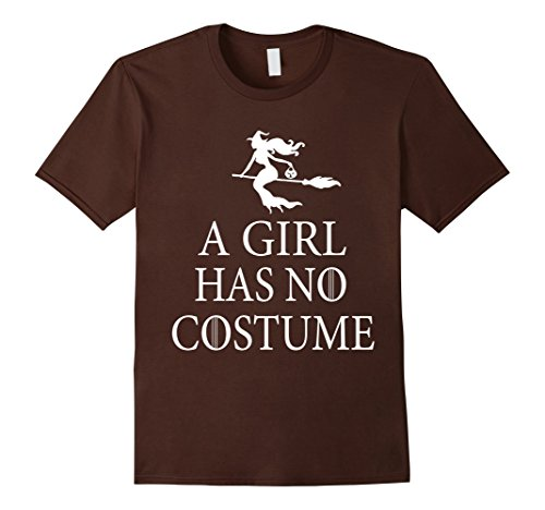 [Men's a girl has no costume tshirt Small Brown] (Sally Brown Costume)