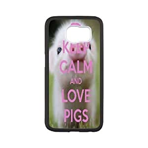 Joy diy custom pink piggy cover case cover for for Diy custom phone case