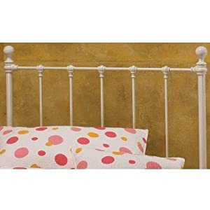 Hillsdale Furniture 1222HFR Molly Headboard with Rails, Full, White from Hillsdale Furniture LLC