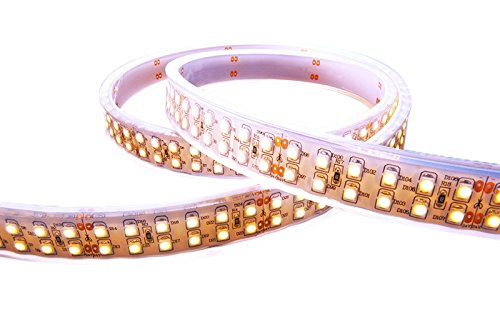 KapegoLED Flexibler LED Stripe, 3528, SMD, warmweiß, 24 V DC, 57,60 W 412361