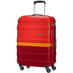 American Tourister Pasadena Spinner M Fl Maletas y trolleys, 66 cm, 58 L, Naranja (Naranja)