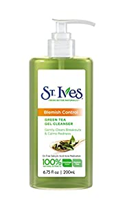St Ives Cleansers, Naturally Clear Green Tea 6.75 oz