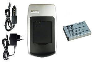 Chargeur + Batterie SLB-10A pour Samsung WB150, WB150F, WB151, WB152, WB152F, WB500