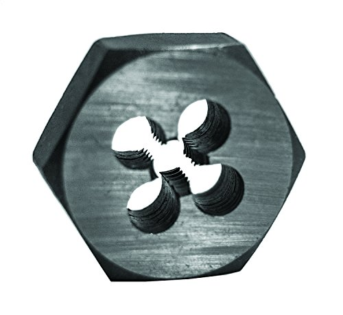 Century Drill and Tool 96208 Fine Hexagon Die, 7/16 - 20