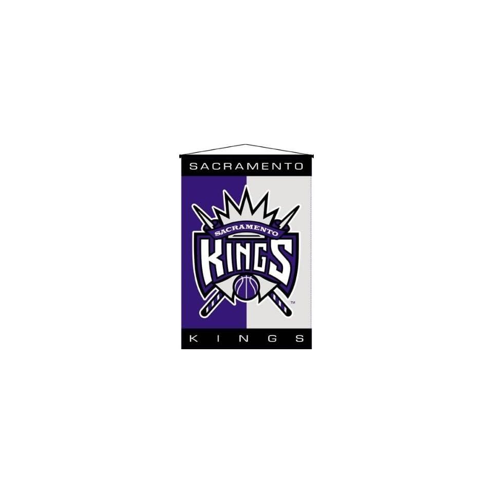 NBA Basketball Deluxe Wallhanging Sacramento Kings   Fan Shop Sports Merchandise