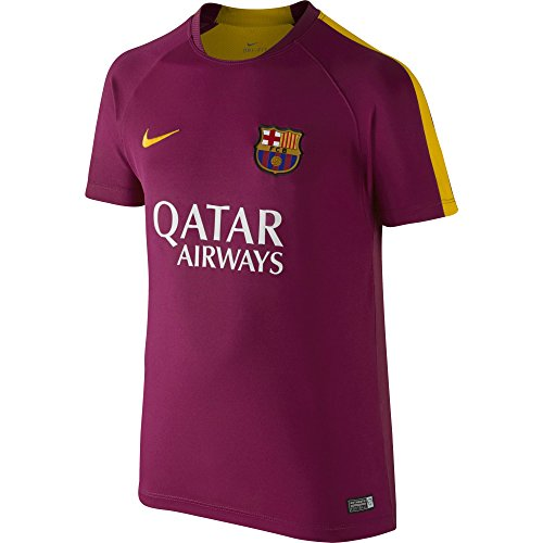 a85c47ebc7 Nike Fcb Flash B Pm Ss Top 2 - Camiseta Fútbol Club Barcelona 2015 2016  para niño