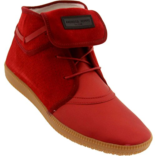Android Homme Men's Mach 1 - Gum Sole (flame red) -9.0