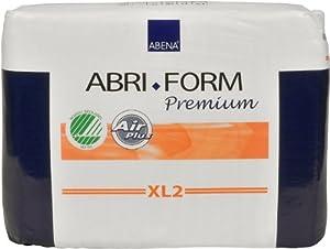 Abena Abri-Form Premium Briefs, Super, Extra-Large XL2, Case/80 (4/20s) from Abena