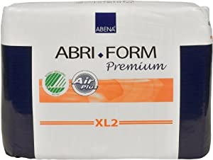 Abena Abri-Form Premium Briefs, Super, Extra-Large XL2, Pack/20