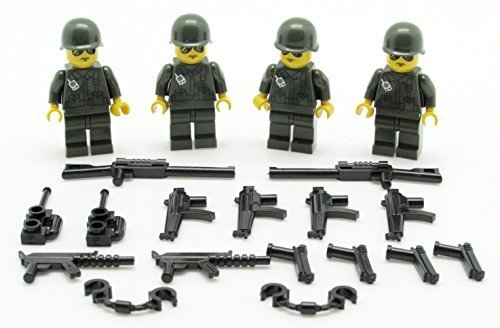 Ranger Squad and Weapons Set