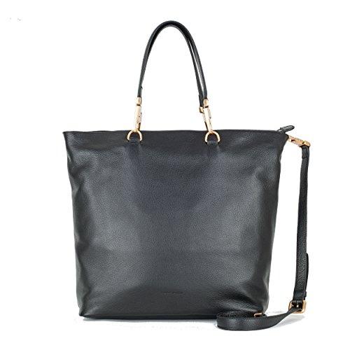 COCCINELLE-Tasche-Roxy-Shopper-Nero