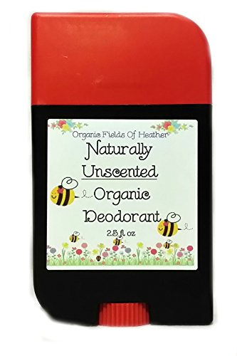 Organic Deodorant - Naturally Unscented - 100% Certified Organic Non-Gmo Ingredients - **New & Improved!** For Women - Men - Kids - Will Not Dry Out Your Skin Or Leave A Long Lasting Oily Residue - Will Naturally Heal Your Damaged Skin - Terrific For Ever back-583009