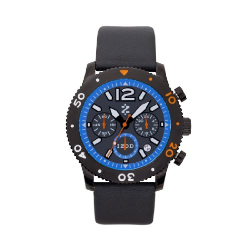 IZOD Men's IZS6/5 BLUE/ORANGE Sport Quartz Chronograph Watch