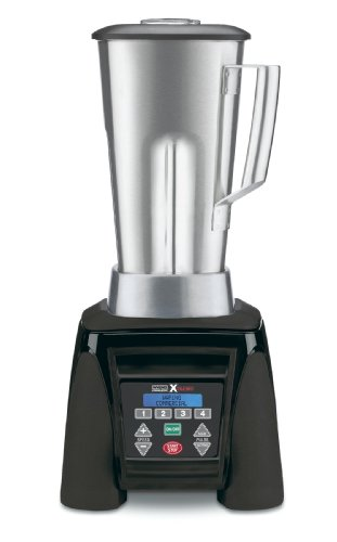 Waring Commercial Mx1300Xts Xtreme Reprogrammable Hi-Power Blender With Stainless Steel Container, 64-Ounce
