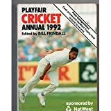 img - for Playfair Cricket Annual 1992 book / textbook / text book