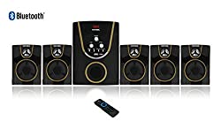 Vemax Posh 5.1 BLUETOOTH Home Theater System With FM USB AUX (Black & Golden)