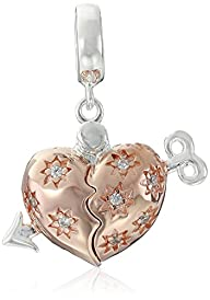 Chamilia Cupid's Arrow Locket Bead Charm