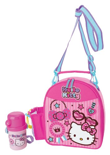 Hello Kitty Lunch Bag With Bottle (Lovely Kitty) - 1