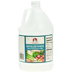 how to clean kettle with white wine vinegar