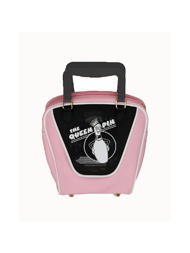 Pink Bowling Hand Bag