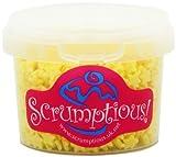 Scrumptious Yellow Sugar Stars Cake Decorations (Pack of 3)