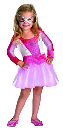 Marvel Spider-Girl Classic Costume, Pink, X-Small
