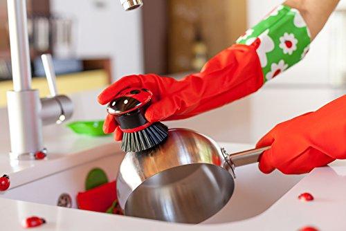 Vigar 3381 guanti da cucina con disegno di coccinella for Attrezzi per la cucina