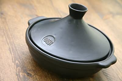 Justin Capp Medium Size 24cm Flameware Tagine With Steamer from Creative Tops