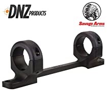 DNZ Products Savage Axis or Edge 1in Medium Mount Black 51200