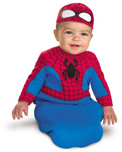 Disguise Spider-Man Bunting Infant Costume - (0-6 Mths) by WMU