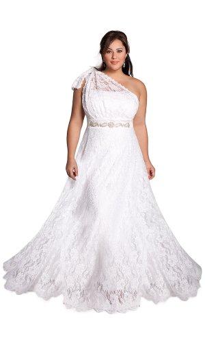 Cheapest IGIGI by Yuliya Raquel Plus Size Celine Wedding Gown